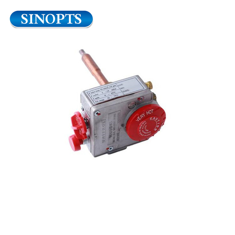 30 75℃ Sinopts Thermostat Water Heater Natural Gas Control